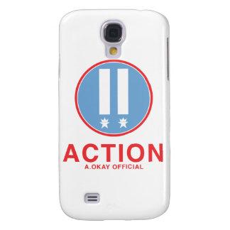 Action A.Okay Official Samsung Galaxy S4 Case