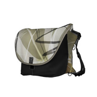 Action Abstract Messenger Bag