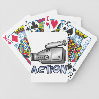 Action Bicycle Playing Cards