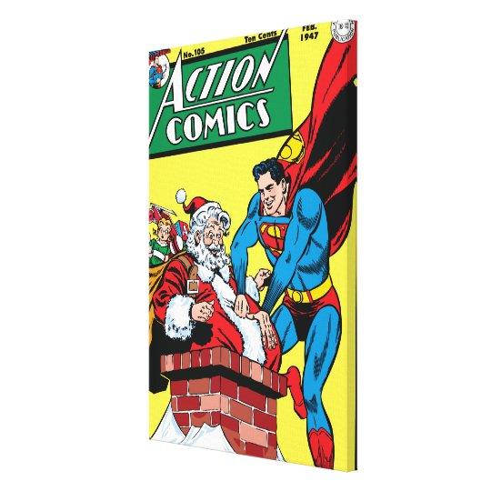 Action Comics #105 Canvas Print