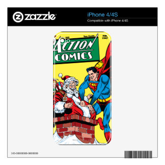 Action Comics #105 iPhone 4S Decal