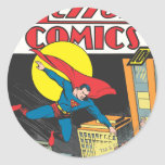 Action Comics #23 Classic Round Sticker
