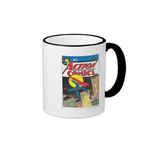 Action Comics #23 Ringer Coffee Mug