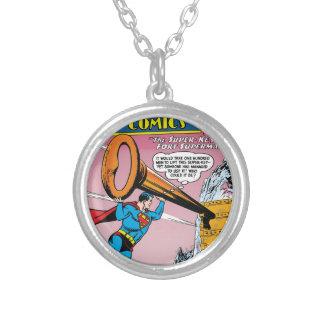 Action Comics #241 Round Pendant Necklace