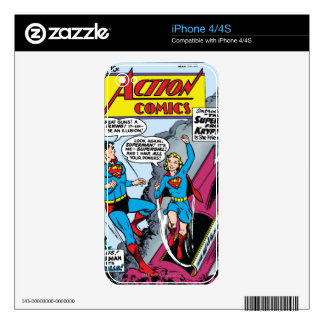 Action Comics #252 iPhone 4S Decal