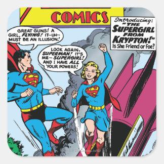 Action Comics #252 Square Sticker