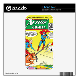Action Comics #277 Decals For The iPhone 4
