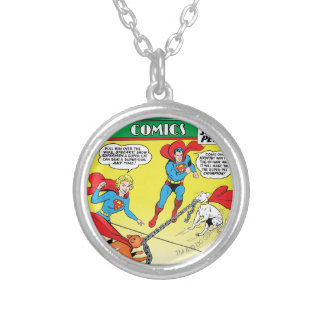 Action Comics #277 Silver Plated Necklace