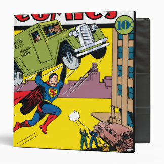 Action Comics #33 3 Ring Binder