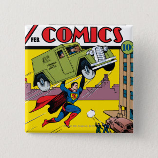 Action Comics #33 Button