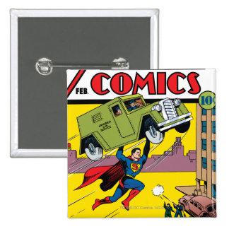 Action Comics #33 Button