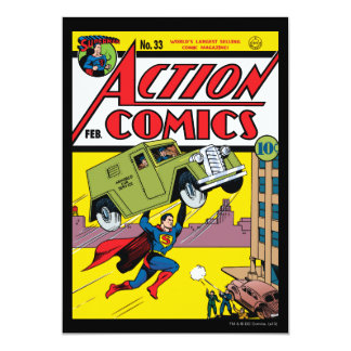 Action Comics #33 Card