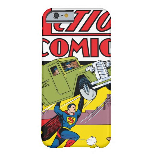 Action Comics #33 Barely There iPhone 6 Case