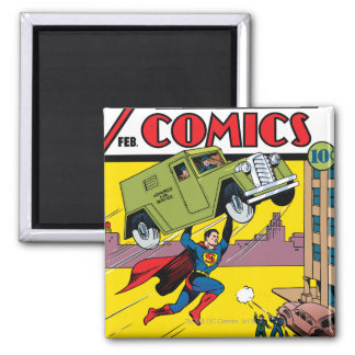 Action Comics #33 Magnet