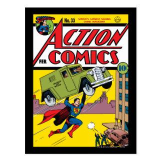 Action Comics #33 Postcard