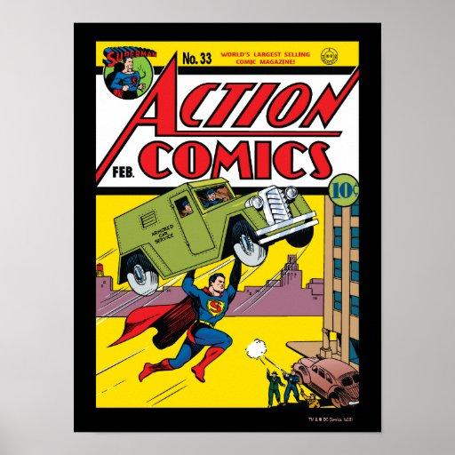 Action Comics #33 Print
