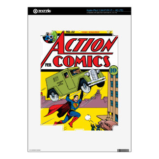 Action Comics #33 Decal For iPad 3