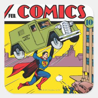 Action Comics #33 Square Sticker