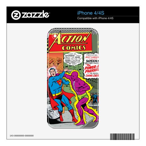 Action Comics #340 Skin For The iPhone 4