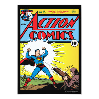 Action Comics #35 Card