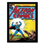 Action Comics #35 Postcard