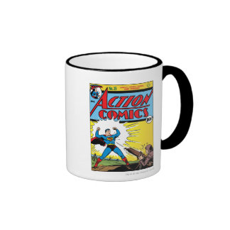 Action Comics #35 Ringer Mug