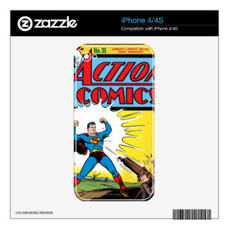Action Comics #35 Skin For The iPhone 4S