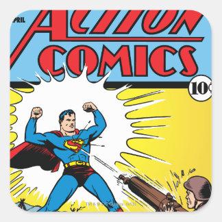 Action Comics #35 Square Sticker