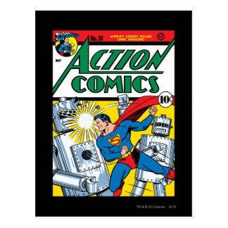 Action Comics #36 Postcard