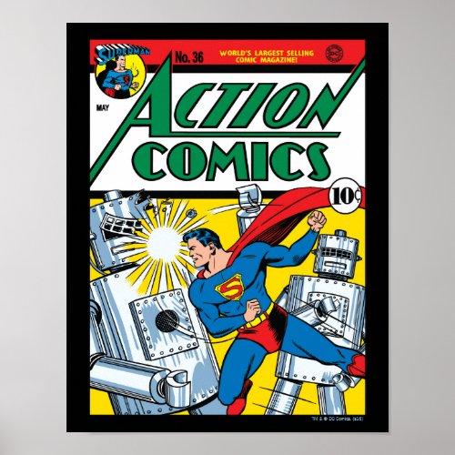 Action Comics #36 Poster