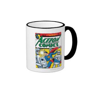 Action Comics #36 Ringer Mug
