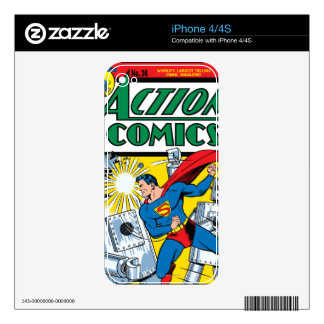Action Comics #36 Skins For The iPhone 4S