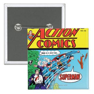 Action Comics #426 Button