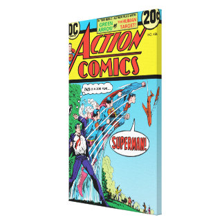 Action Comics 426 Gallery Wrapped Canvas