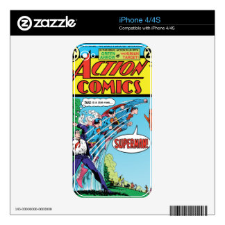 Action Comics #426 Skin For iPhone 4