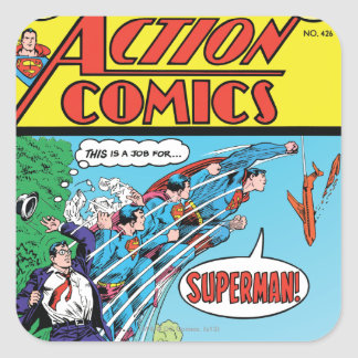 Action Comics #426 Square Sticker