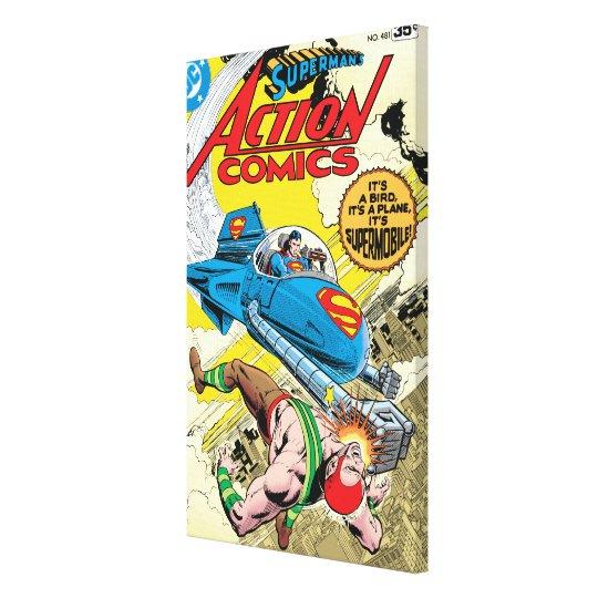 Action Comics #481 Canvas Print