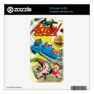 Action Comics #481 Decal For iPhone 4