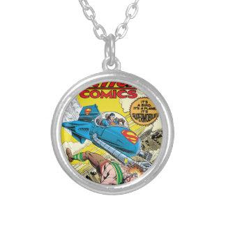 Action Comics #481 Round Pendant Necklace