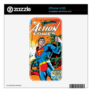 Action Comics #485 Decals For iPhone 4