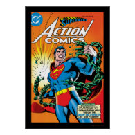 Action Comics #485 Poster