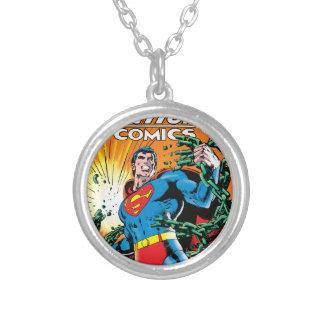 Action Comics #485 Round Pendant Necklace