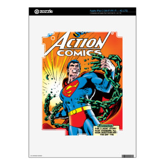 Action Comics #485 Decal For iPad 3