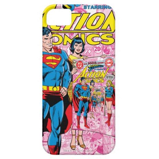 Action Comics #500 Oct 1979 iPhone 5 Case