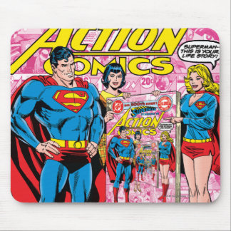 Action Comics #500 Oct 1979 Mouse Pad