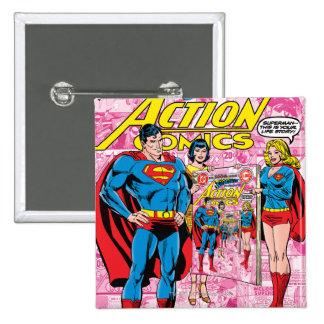 Action Comics #500 Oct 1979 Pinback Button