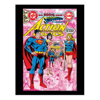 Action Comics #500 Oct 1979 Postcard