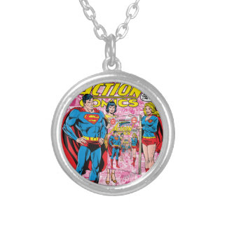 Action Comics #500 Oct 1979 Silver Plated Necklace