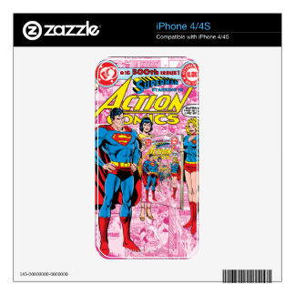 Action Comics #500 Oct 1979 Skin For The iPhone 4