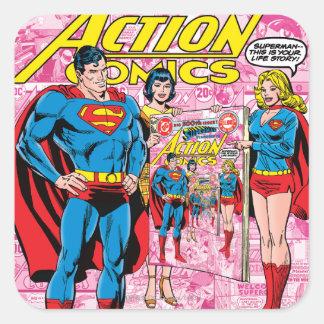 Action Comics #500 Oct 1979 Square Sticker